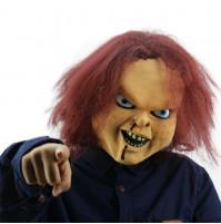 Briesmīgas lelles Čakija maska no filmas