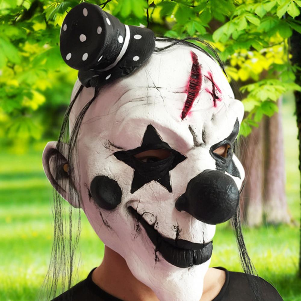 Creepy Clown Face Mask