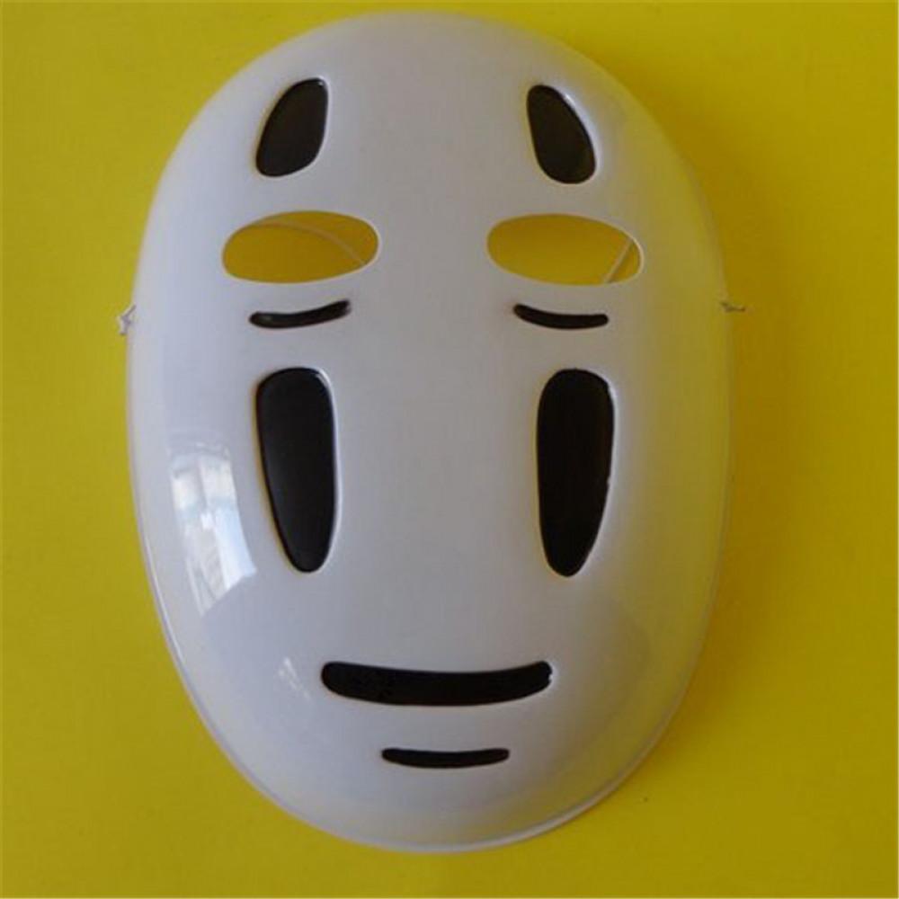 Bezsejas Dieva Kaonasi maska no Hajao Miyazaki multiplikācijas filmas Gariem līdzi