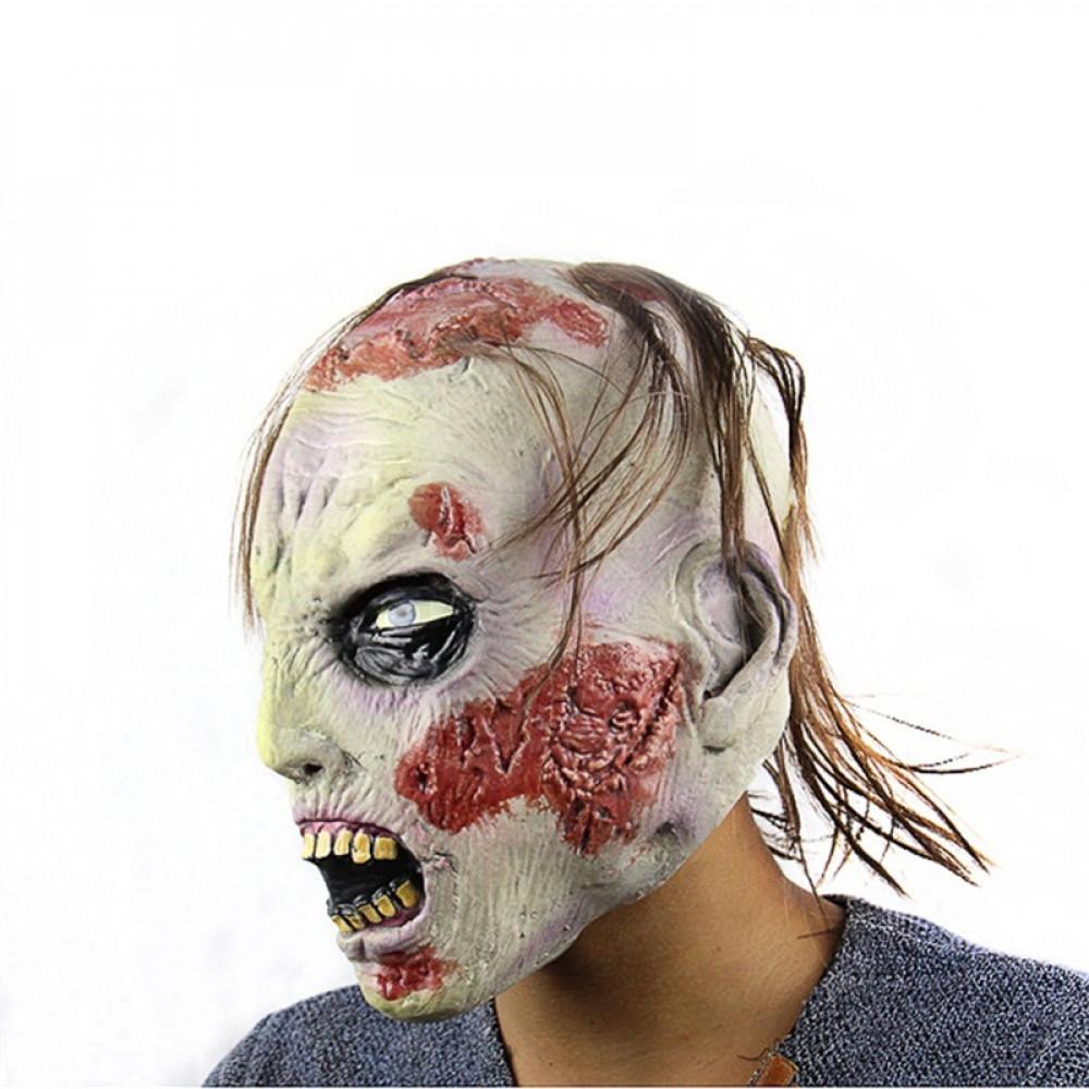 Zaļā Goula Zombija maska