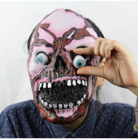 Pink Goul Zombie Latex Face Mask