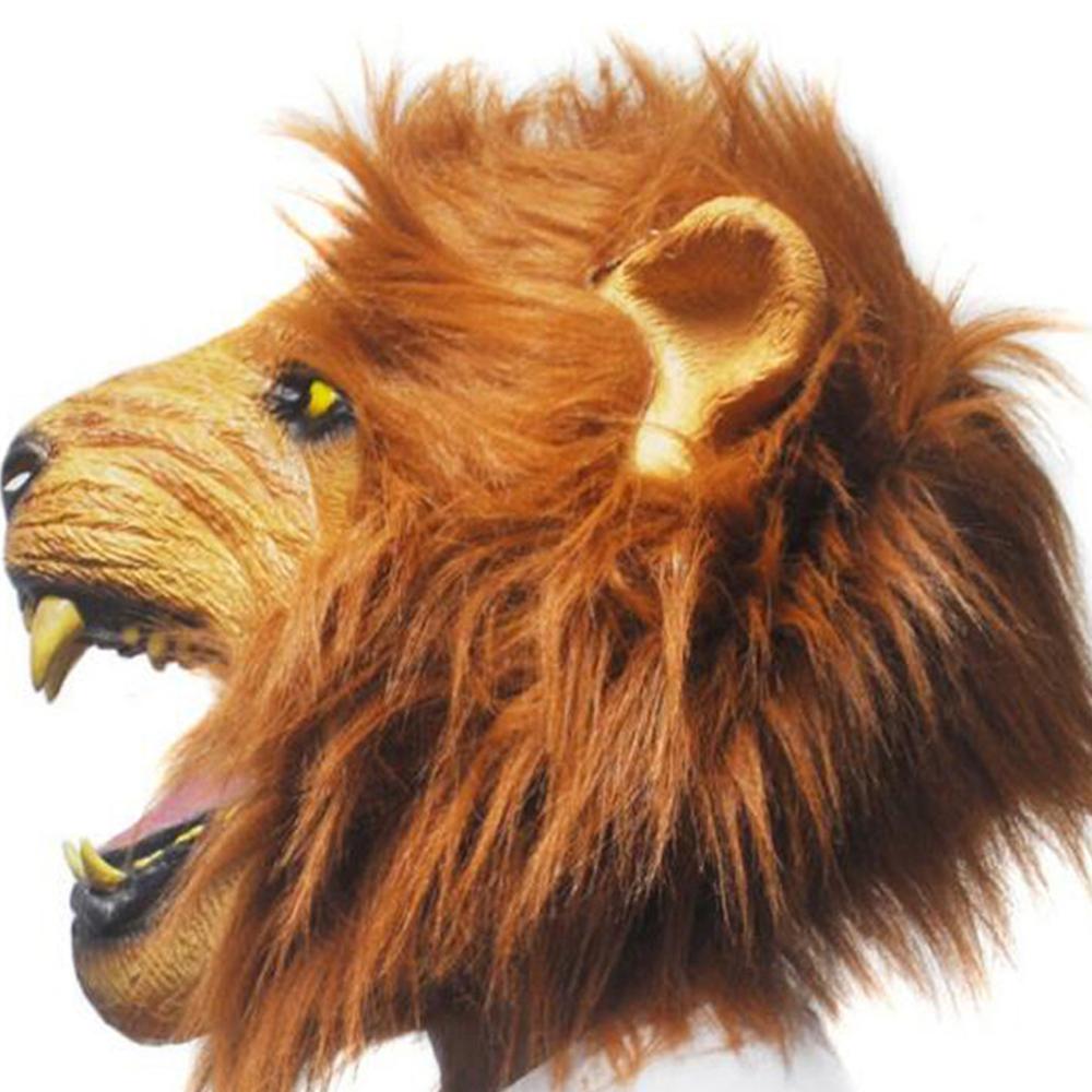 Augstas kvalitātes Zvēru cara Lauvas maska