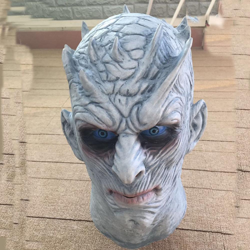 Augstas kvalitātes Nakts Karaļa maska no populārā seriāla Troņu spēles - Game of Thrones White Walker King of Night mask