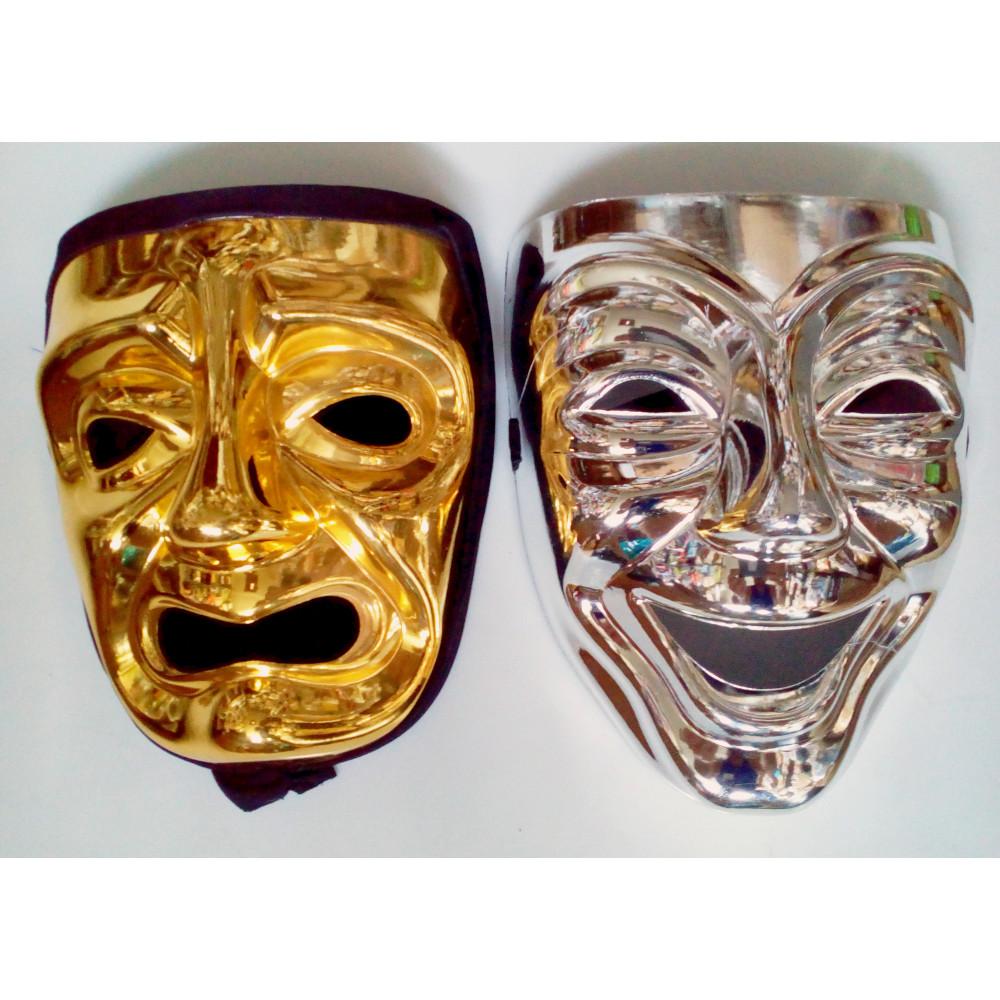 Jautrā vai skumjā teatra maskas