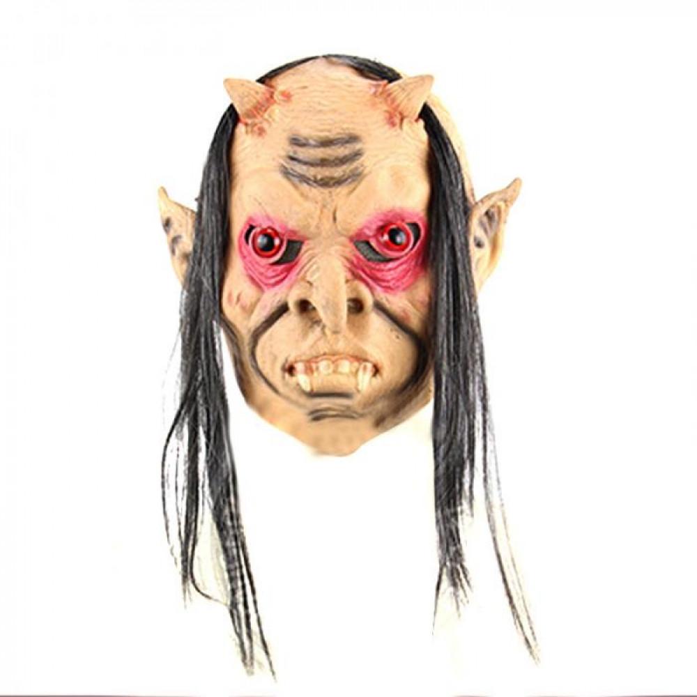 Riebīga ragainā goblina maska