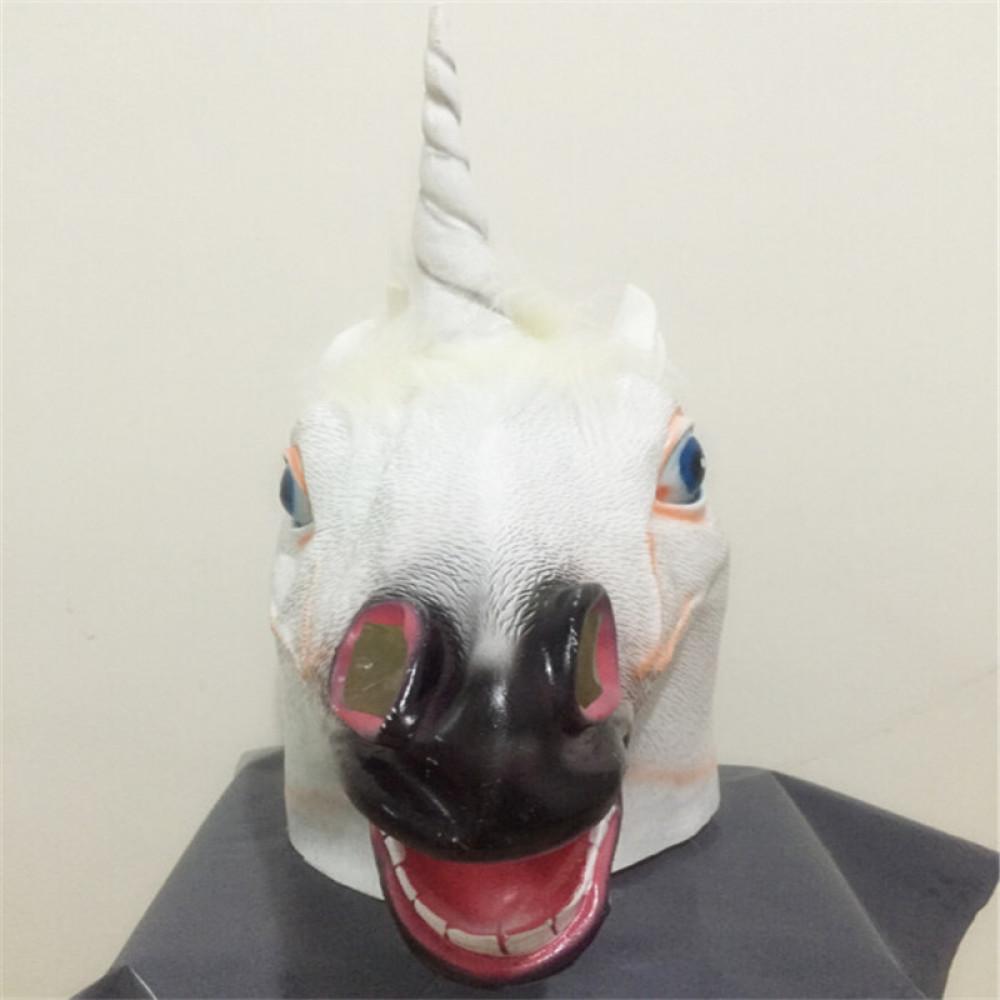 Augstas kvalitātes pasakainā vienradža maska
