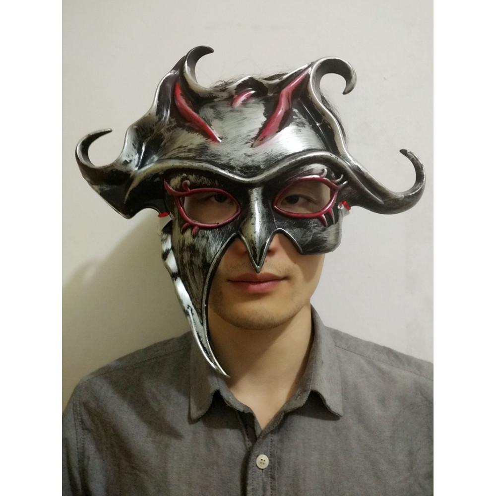 Venecijas karnevāla Saules Dieva maska