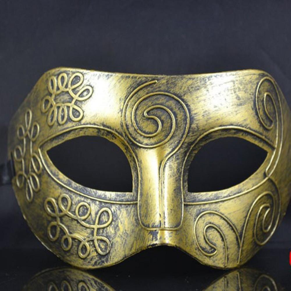 Classical Venetian Carnival Half Mask