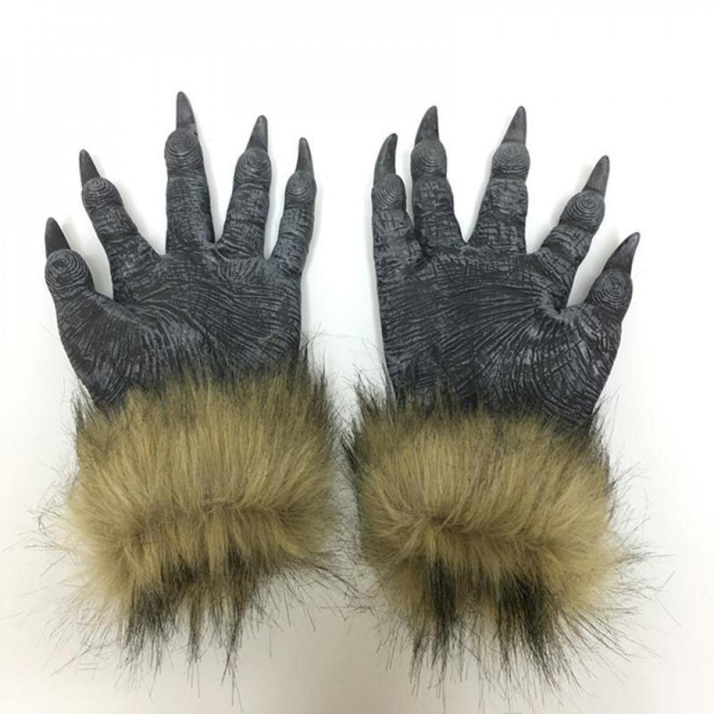 Augstas kvalitātes vilkača kostīms - maska ar nagiem