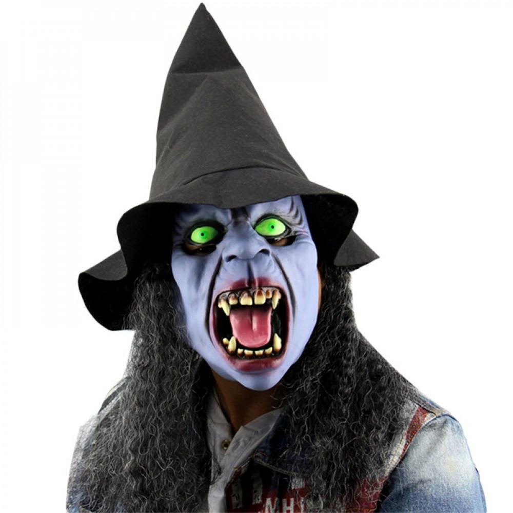 Zilas raganas hokeja maska