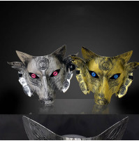Stylish Steel Egyptian Wolf Anubis Mask