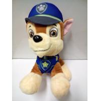 Mīkstā rotaļlieta Chase no Ķepu patruļas - Paw Patrol Suņu patruļa