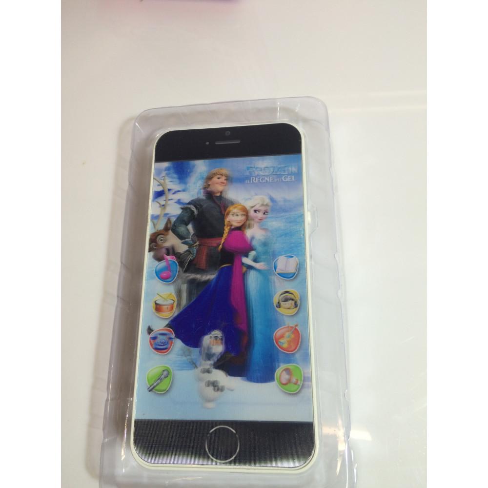 4D smartphone Frozen iPhone