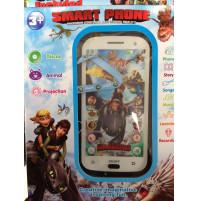 Interaktīvs bērnu mobilais telefons  - Kā pieradināt pūķi motīvos