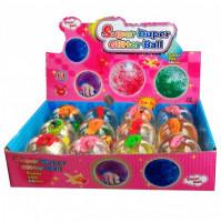 Mirgojošā bumba Super Duper Glitter Ball
