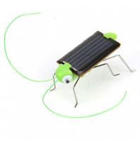 Solar Powered Robot: Grasshopper, car or sprider