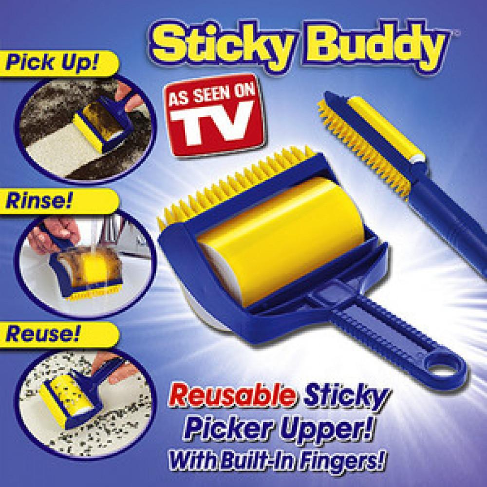 Putekļu tīrīšanas rullītis Sticky Buddy