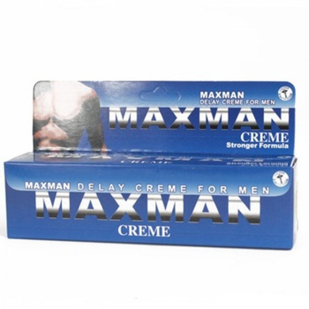 Maxman delay cream for men