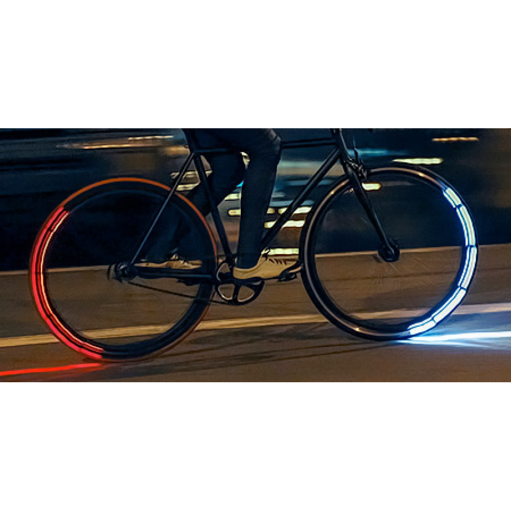 LED lamps for bycicle, motorcycle wheels x2