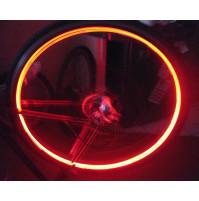 LED lukturīši - jāņtārpiņi velosipēda, motocikla vai mašīnas rīteņiem x2