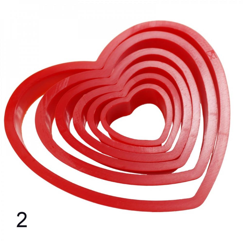 Cepšanas formas - sirdis (dažādi veidi)