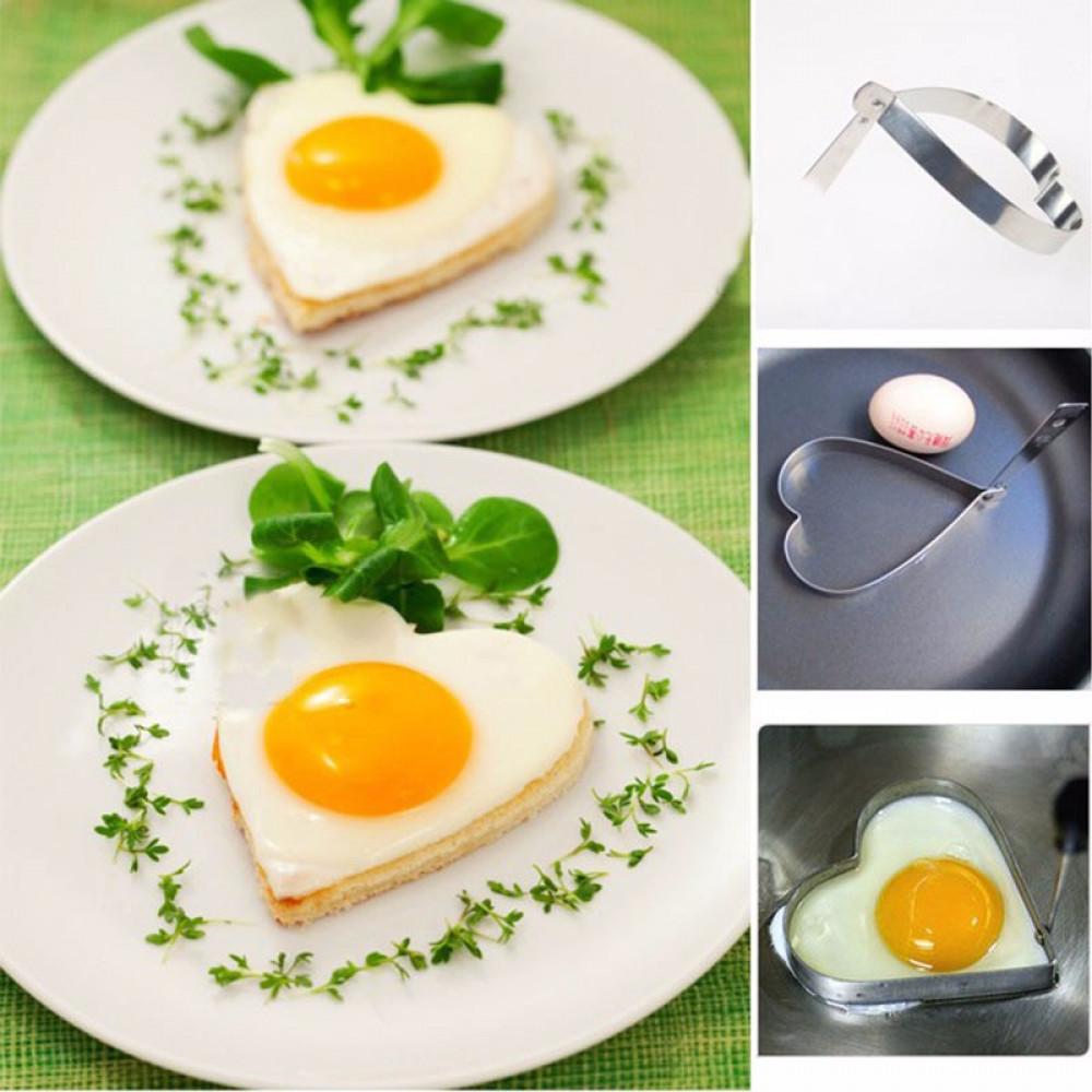 Egg & Pancake Heart Mold