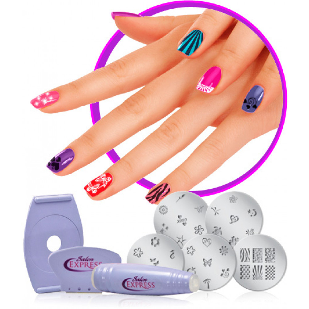 Salon Express - exquisite do-it-yourself manicure!
