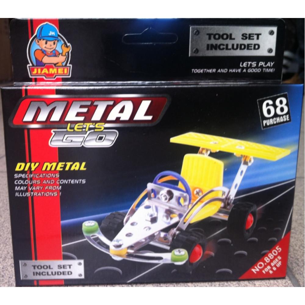 METAL LET'S GO DIY METAL CONSTRUCTION KIT MODEL NO 8805