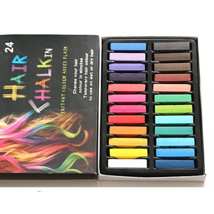 24 Hair Chalk Hot Huez