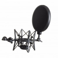 Professional Shock Mount With Pop Shield Filter Screen
