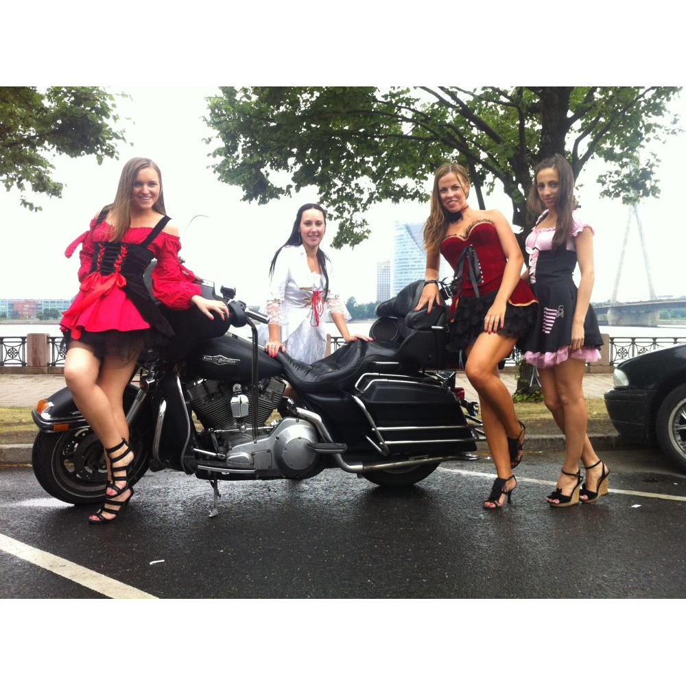 Gift Card from Zorb.lv - Hen party best surprise: Harley-Davidson ride