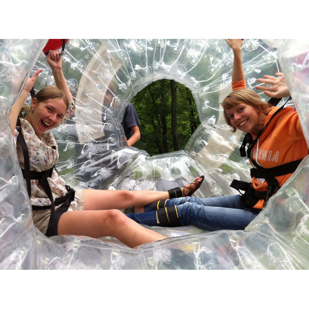 Gift Card from Zorb.lv - Rolldown inside Zorb ball for two