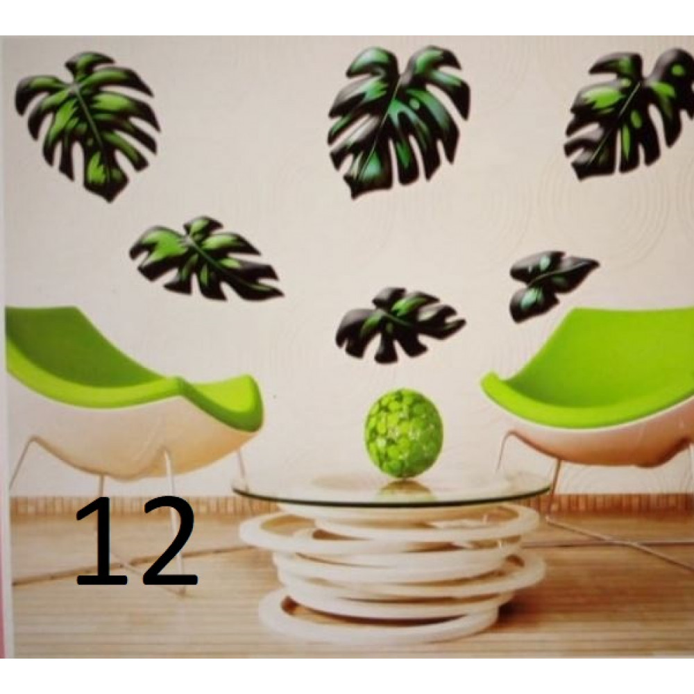 Reflective 3D wall stickers for your home