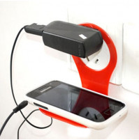 Phone holder when charging