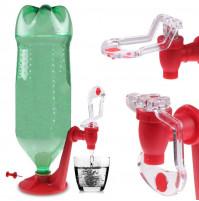 Water Fizz Stand Dispenser for drinks in standard bottles