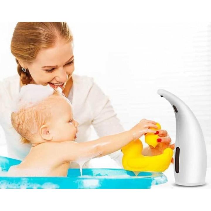 Safe non-contact cordless dispenser - dispenser for liquid soap, detergent, disinfectant