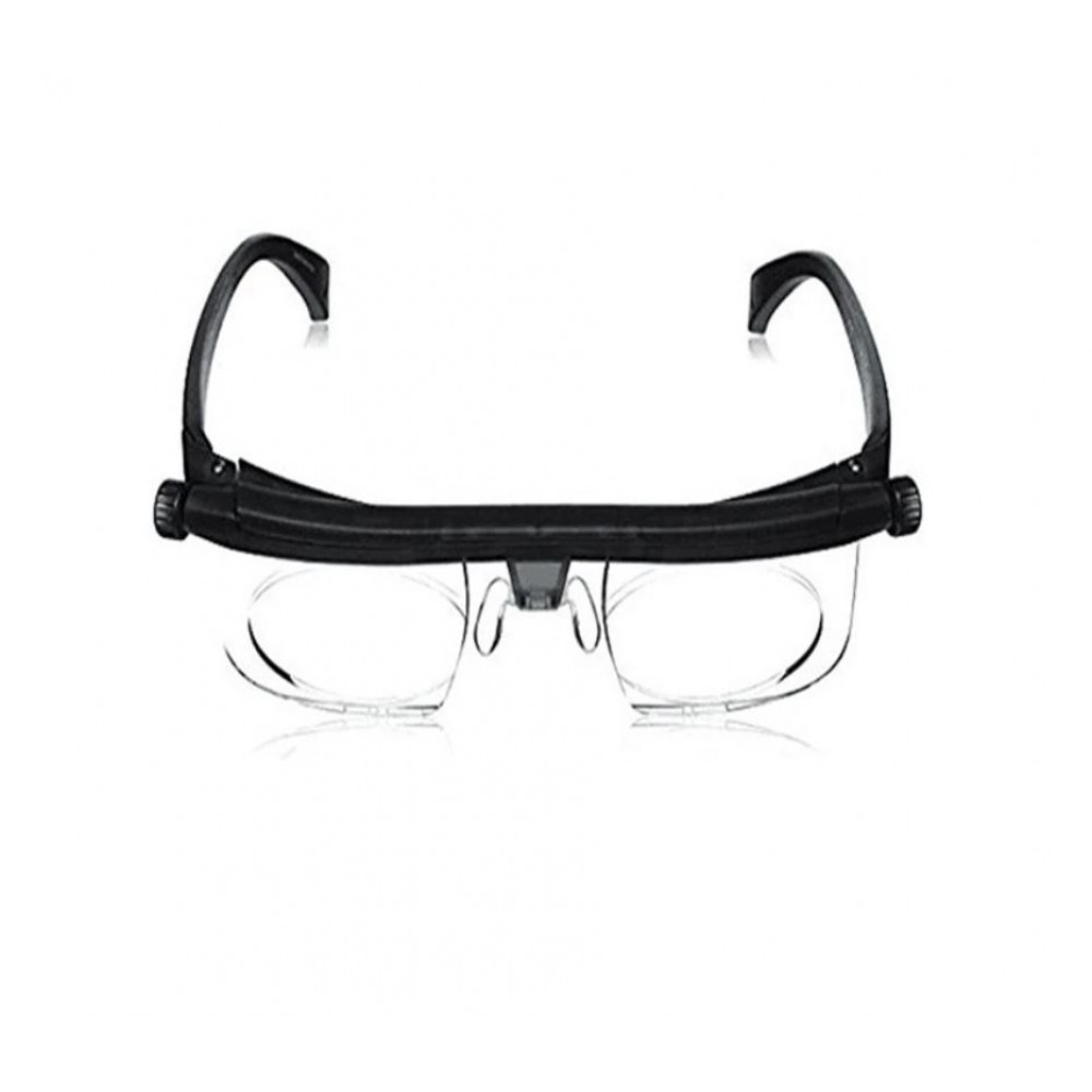 Versatile vision glasses with individually adjustable Dial Vision lenses