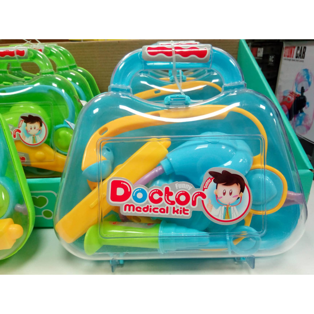 A set of doctors for young doctors - a children's educational toy