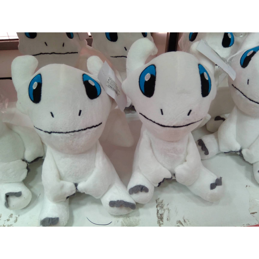 Soft toy white Dragon Fury from a cartoon How to Train Your Dragon