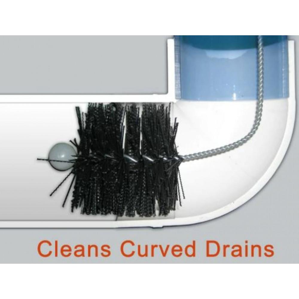 Long flexible brush for cleaning clogs in sinks, bathtubs, toilet Drain Cleaner Brush
