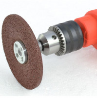 Nozzle for drill - grinder