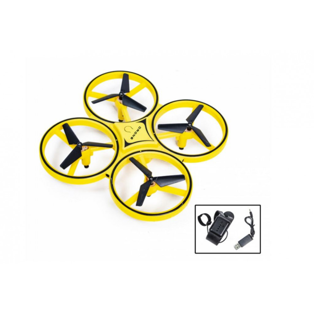 LED Quadcopter Drone Touch Control Tracker