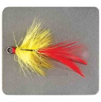 Surface lure with plumage for fast rivers