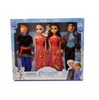 Frozen Dolls - Elsa, Anna, Christoph or Hans