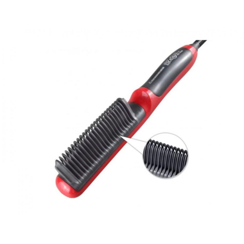 Ceramic Electric Comb Hair Dryer Hair Straightener HQT-909B