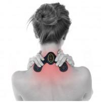 Myostimulator, butterfly neck massager