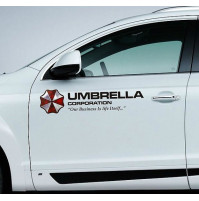 Sticker for car Umbrella Corporation, T-virus, from the movie Resident Evil