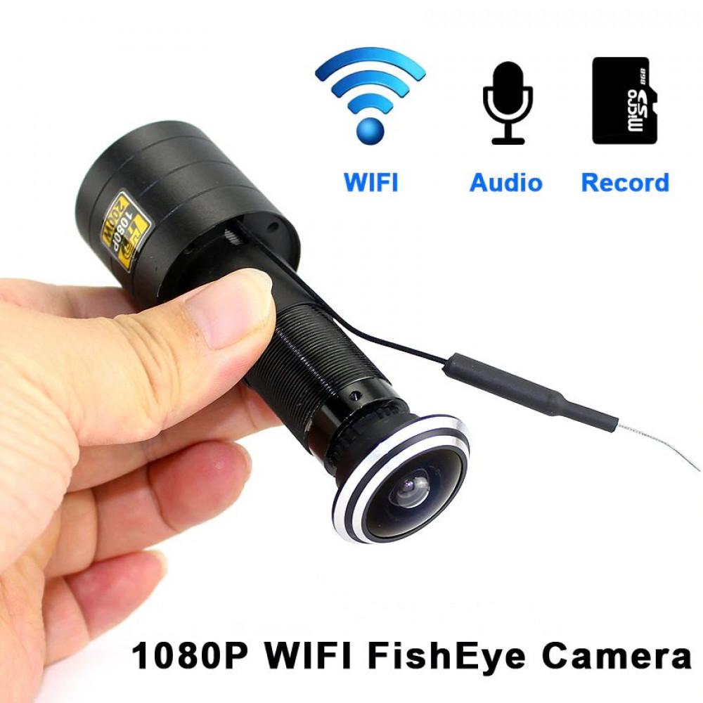 1080P HD H.264 P2P Peephole - Recording Camcorder