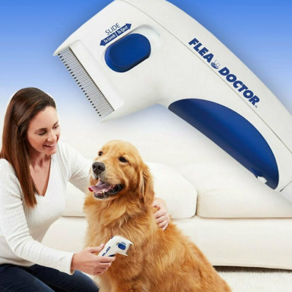 Flea Doctor electric comb for dogs and cats