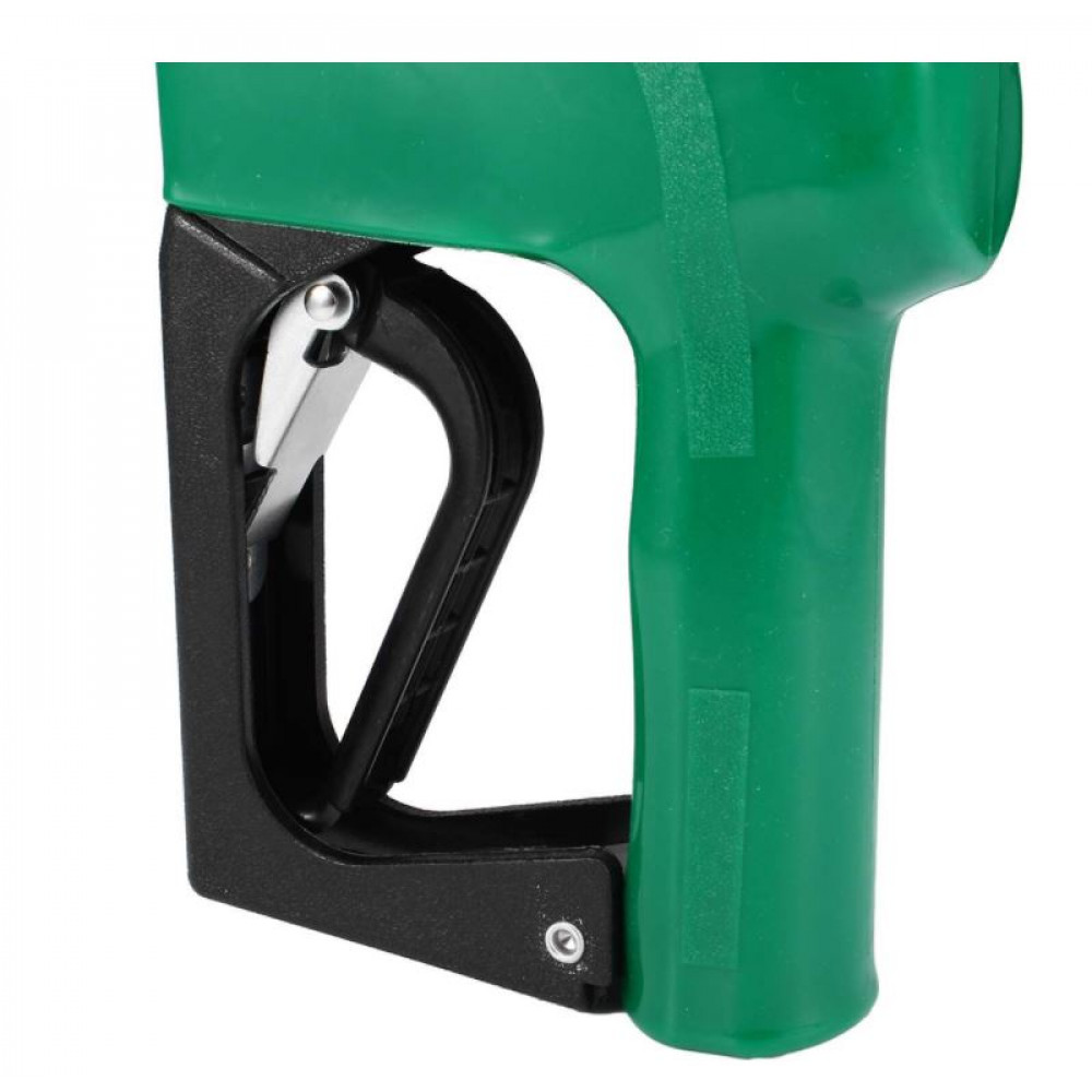 Nozzle for a fuel hose, a gun with a liter counter for refueling gasoline, diesel in canisters, barrels, car tank